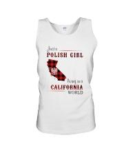 POLISH GIRL LIVING IN CALIFORNIA WORLD Unisex Tank thumbnail