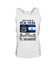 LIVE IN NEW YORK BEGAN IN EL SALVADOR Unisex Tank thumbnail