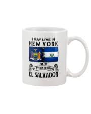 LIVE IN NEW YORK BEGAN IN EL SALVADOR Mug thumbnail