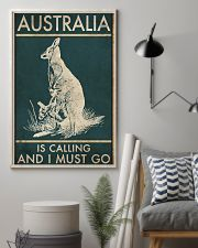 AUSTRALIA IS CALLING AND I MUST GO 11x17 Poster lifestyle-poster-1