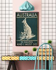 AUSTRALIA IS CALLING AND I MUST GO 11x17 Poster lifestyle-poster-6