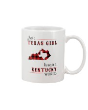 TEXAS GIRL LIVING IN KENTUCKY WORLD Mug thumbnail