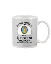 I'M THE HUSBAND OF A BROOKLYN WOMAN Mug thumbnail