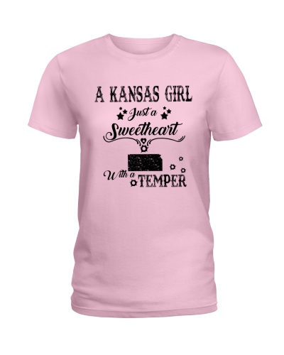A KANSAS GIRL JUST A SWEETHEART WITH A TEMPER