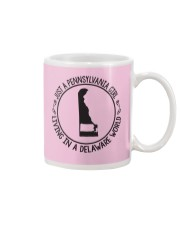 PENNSYLVANIA GIRL LIVING IN DELAWARE WORLD Mug thumbnail
