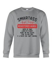 SMARTASS REGISTED NURSE Crewneck Sweatshirt thumbnail