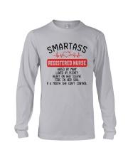 SMARTASS REGISTED NURSE Long Sleeve Tee thumbnail