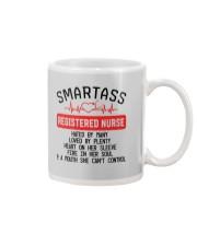 SMARTASS REGISTED NURSE Mug thumbnail