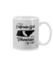 JUST A CALIFORNIA GIRL IN A TENNESSEE WORLD Mug thumbnail
