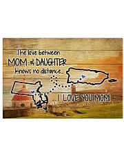 PUERTO RICO MASSACHUSETTS MOTHER AND DAUGHTER Horizontal Poster tile