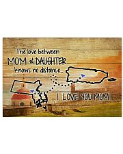 PUERTO RICO MASSACHUSETTS MOTHER AND DAUGHTER 24x16 Poster front
