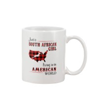 SOUTH AFRICAN GIRL LIVING IN AMERICAN WORLD Mug thumbnail