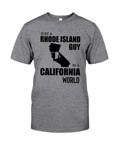 JUST A RHODE ISLAND GUY IN A CALIFORNIA WORLD