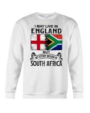 LIVE IN ENGLAND BEGAN IN SOUTH AFRICA Crewneck Sweatshirt thumbnail