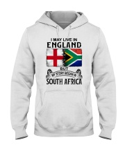LIVE IN ENGLAND BEGAN IN SOUTH AFRICA Hooded Sweatshirt thumbnail