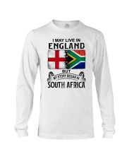 LIVE IN ENGLAND BEGAN IN SOUTH AFRICA Long Sleeve Tee thumbnail