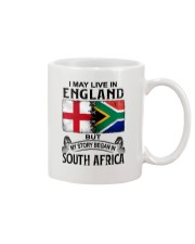 LIVE IN ENGLAND BEGAN IN SOUTH AFRICA Mug thumbnail