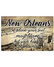 NEW ORLEANS A PLACE YOUR HEART REMAINS 24x16 Poster front