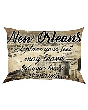NEW ORLEANS A PLACE YOUR HEART REMAINS Rectangular Pillowcase thumbnail