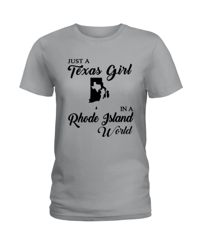 JUST A TEXAS GIRL IN A RHODE ISLAND WORLD