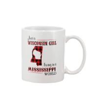 WISCONSIN GIRL LIVING IN MISSISSIPPI WORLD Mug thumbnail