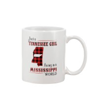 TENNESSEE GIRL LIVING IN MISSISSIPPI WORLD Mug thumbnail