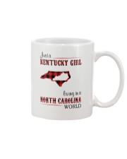 KENTUCKY GIRL LIVING IN NORTH CAROLINA WORLD Mug thumbnail