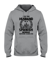 I'M THE HUSBAND OF A SPANISH WOMAN Hooded Sweatshirt thumbnail