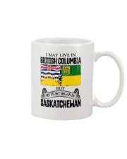 LIVE IN BC IN SASKATCHEWAN ROOT WOMEN Mug thumbnail