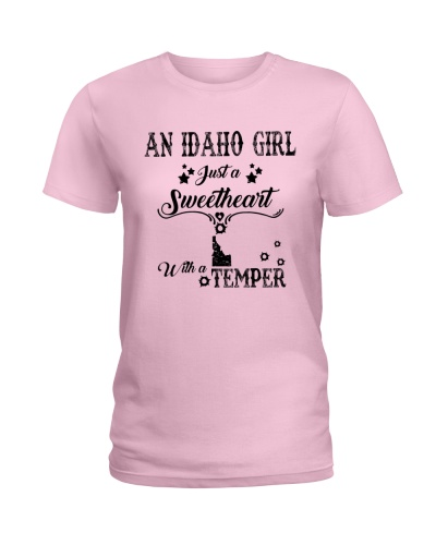 AN IDAHO GIRL JUST A SWEETHEART WITH A TEMPER