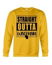 STRAIGHT OUTTA WISCONSIN Crewneck Sweatshirt thumbnail