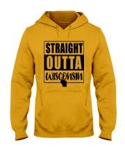 STRAIGHT OUTTA WISCONSIN Hooded Sweatshirt thumbnail