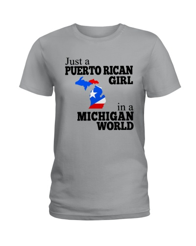 JUST A PUERTO RICAN GIRL IN A MICHIGAN WORLD