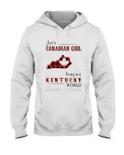 CANADIAN GIRL LIVING IN KENTUCKY WORLD Hooded Sweatshirt thumbnail