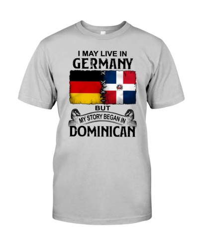 LIVE IN GERMANY BEGAN IN DOMINICAN