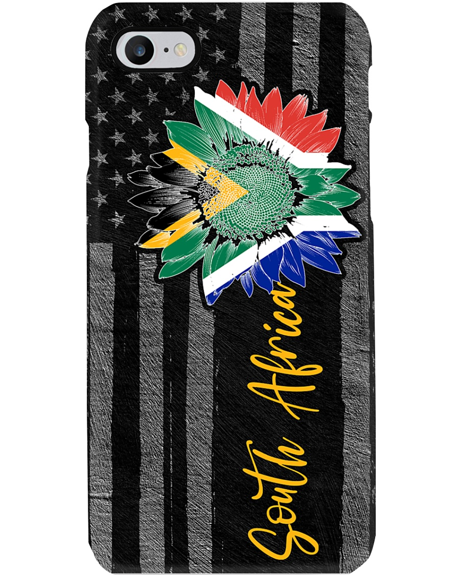 SOUTH AFRICA FLAG SUNFLOWER Phone Case