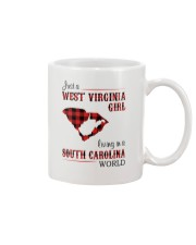WEST VIRGINIA GIRL LIVING IN SOUTH CAROLINA WORLD Mug thumbnail