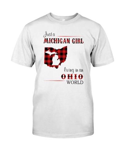 MICHIGAN GIRL LIVING IN OHIO WORLD