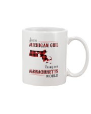 MICHIGAN GIRL LIVING IN MASSACHUSETTS WORLD Mug thumbnail
