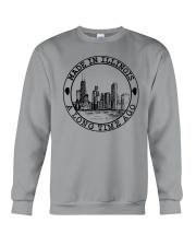 MADE IN ILLINOIS A LONG TIME AGO Crewneck Sweatshirt thumbnail