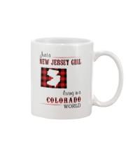 JERSEY GIRL LIVING IN COLORADO WORLD Mug thumbnail