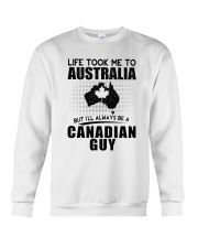CANADIAN GUY LIFE TOOK TO AUSTRALIA Crewneck Sweatshirt thumbnail