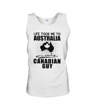 CANADIAN GUY LIFE TOOK TO AUSTRALIA Unisex Tank thumbnail