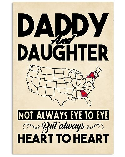 GEORGIA NEW YORK DADDY DAUGHTER HEART TO HEART