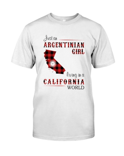 ARGENTINIAN GIRL LIVING IN CALIFORNIA WORLD