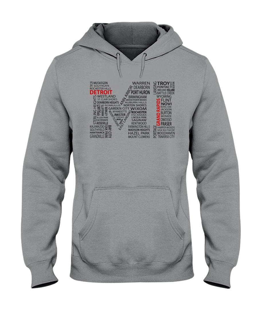 MI CITIES Hooded Sweatshirt
