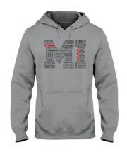 MI CITIES Hooded Sweatshirt front