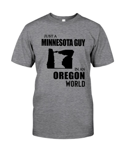 JUST A MINNESOTA GUY IN AN OREGON WORLD