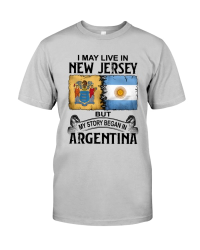 LIVE IN NEW JERSEY BEGAN IN ARGENTINA