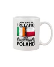 LIVE IN IRELAND BEGAN IN POLAND Mug thumbnail